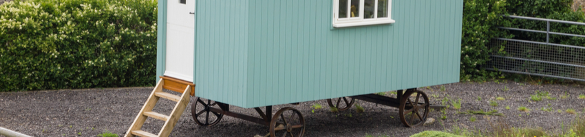Could the council force a home owner to remove a caravan from her land? Which case won?